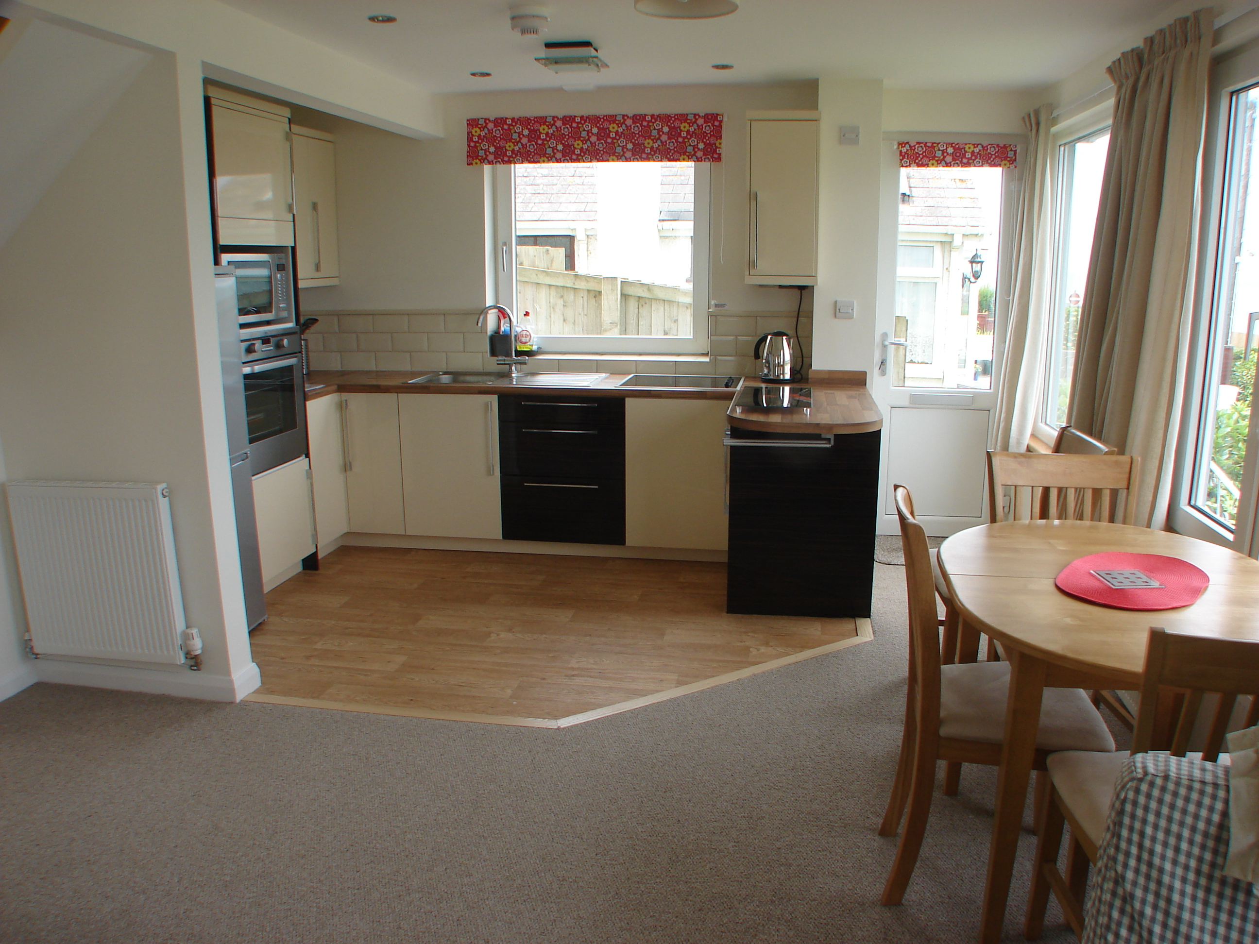Polzeath Chalet Kitchen