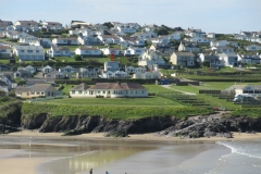 Polzeath Chalet From Beach